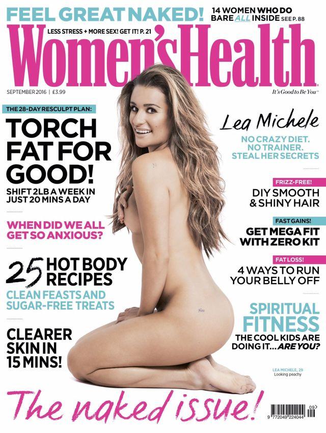Lea Michele - Womens Health (1)