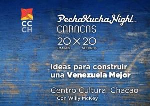 Pechakucha Night Caracas presenta su tercera edición con Ideas para construir una Venezuela mejor