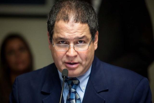Luis Florido, diputado venezolano por la alianza opositora Mesa de Unidad Democrática  (EFE/Miguel Gutiérrez)