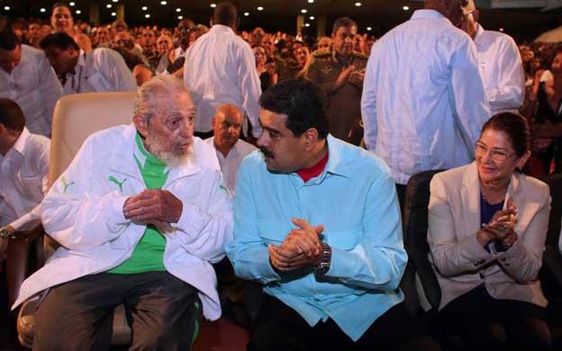 El jefe de Estado viajó a Cuba para la celebración del cumpleaños 90 de Fidel Castro. (Foto: EFE)