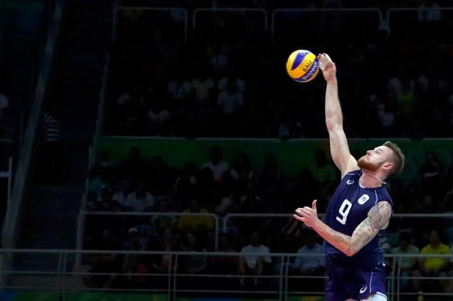 Volleyball - Men's Semifinals Italy v USA