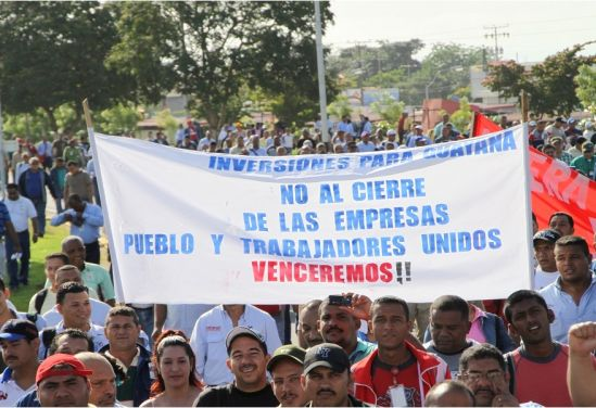 Un viejo reclamo de los trabajadores y el movimiento sindical en Guayana son las inversiones para las empresas básicas