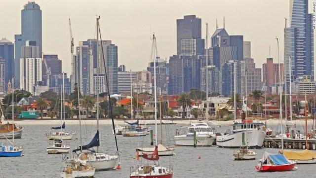 Melbourne figura en el ranking mundial entre las mejores ciudades para vivir