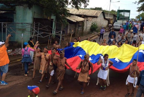 marcha indigenas