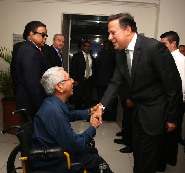 Walter Márquez se reunió con el presidente de Panamá