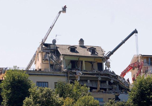 El hotel Roma en Amatrice (Foto Reuters)