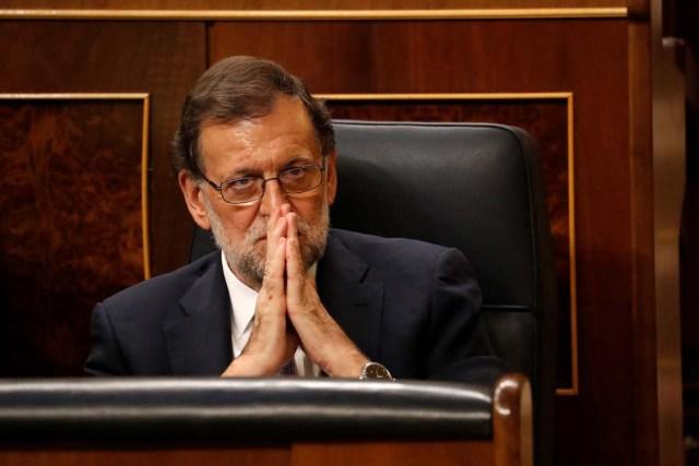 El presidente del gobierno español, Mariano Rajoy (Foto archivo Reuters)