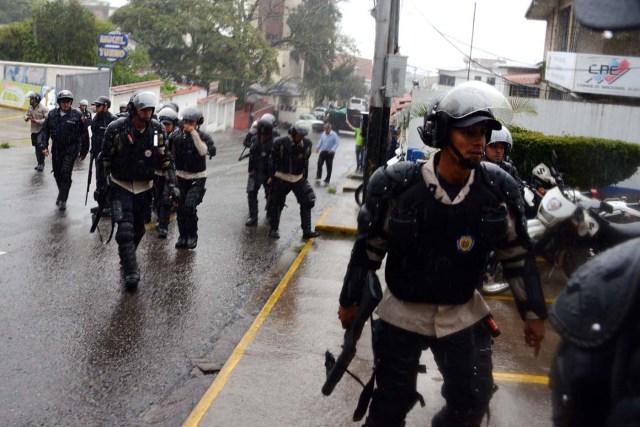 represion policia marcha 7S revocatorio
