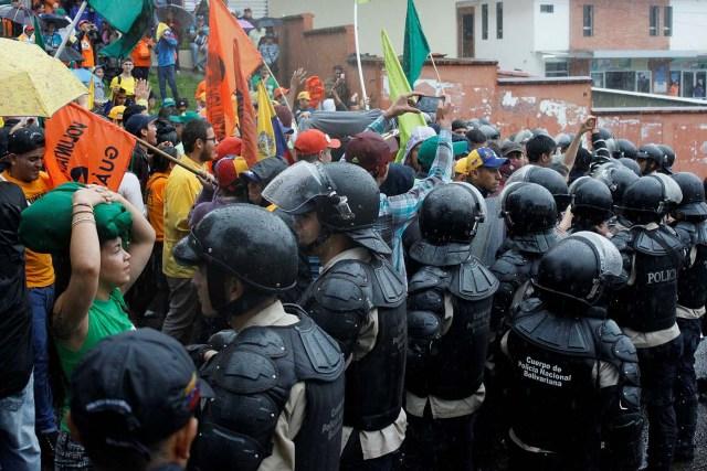 represion policia oposicion marcha