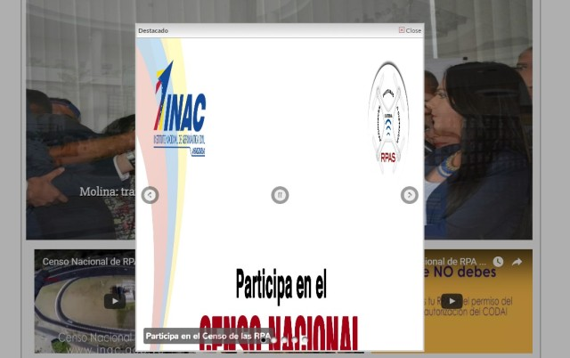 Inac censo
