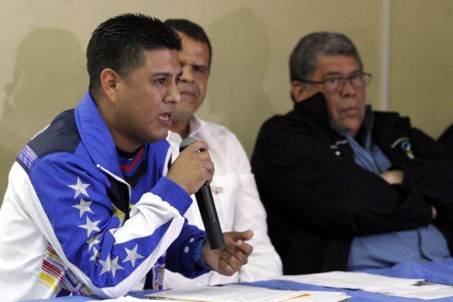 El ministro de Deporte Pedro Infante. Foto: AVN