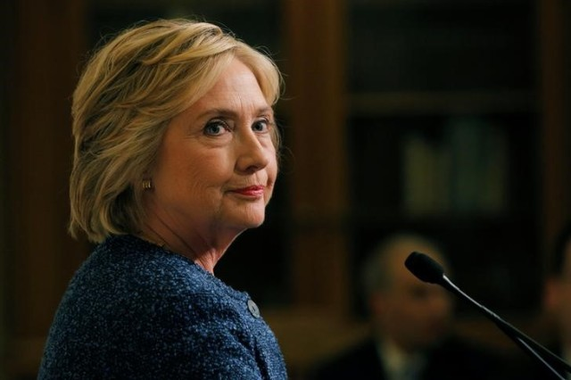 La candidata presidencial demócrata Hillary Clinton REUTERS/Brian Snyder
