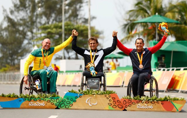 Cycling Road - Victory Ceremony - Men's Time Trial H5