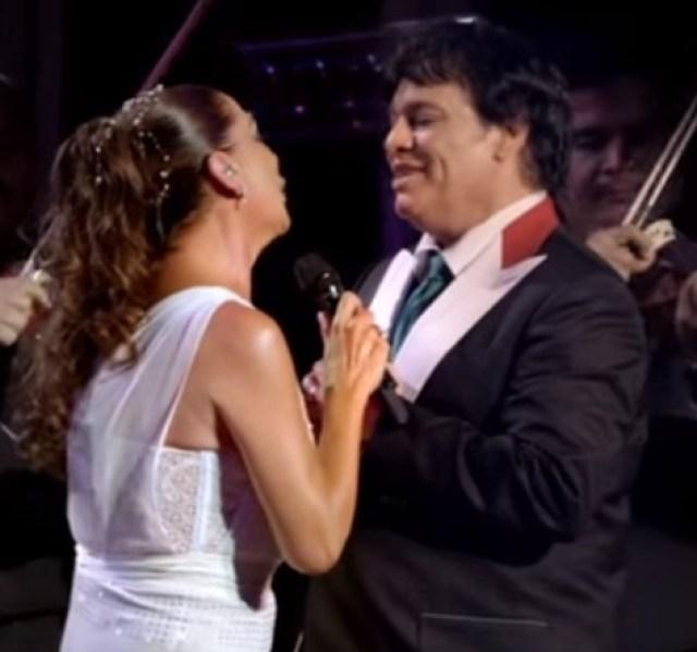 Juan Gabriel e Isabel Pantoja