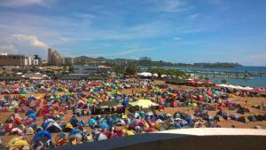 Campamento ñángara que Maduro colocó en Margarita duplicó su tamaño (FOTO)