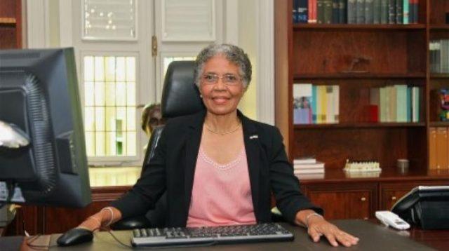 Gobernadora de Curazao, Sra. Lucille George-Wout