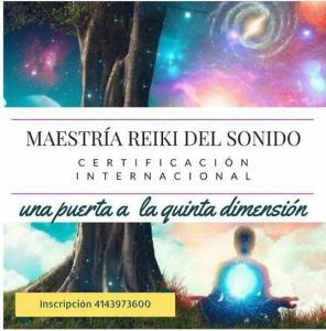 Brújula Interna ofrecerá formación Internacional en Maestría Reiki Unitario del sonido