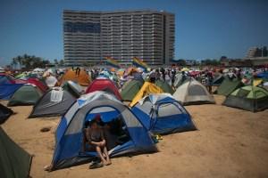 Sector residencial de Margarita perturbado por el campamento ñángara de Nicolás
