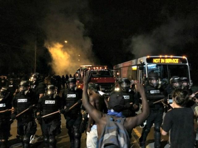 Charlotte protestas