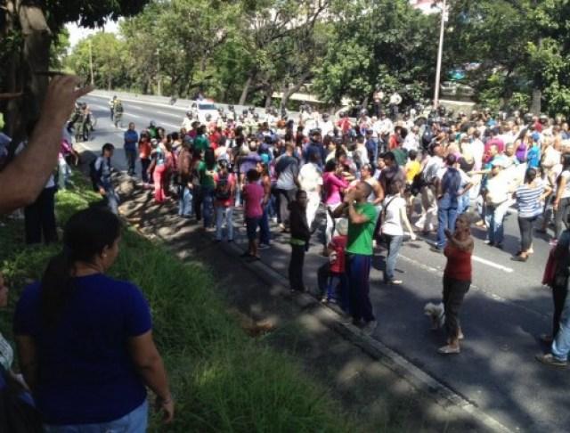 Protesta en Hornos de Cal