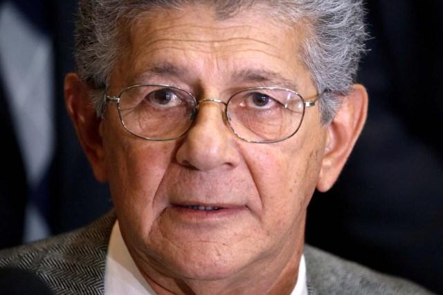 Henry Ramos Allup, presidente de la Asamblea Nacional (Foto Reuters)