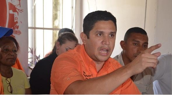 representante de Voluntad Popular en Nueva Esparta, Juan Bautista Mata