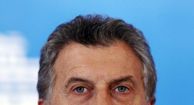 El presidente de Argentina, Mauricio Macri. REUTERS/Marcos Brindicci
