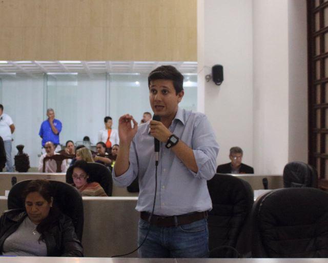 El concejal del municipio Libertador, Jesús Armas