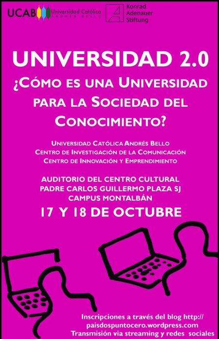 Jornada Universidad 2.0