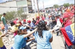 Protesta en Villa Rosa dejó cinco heridos
