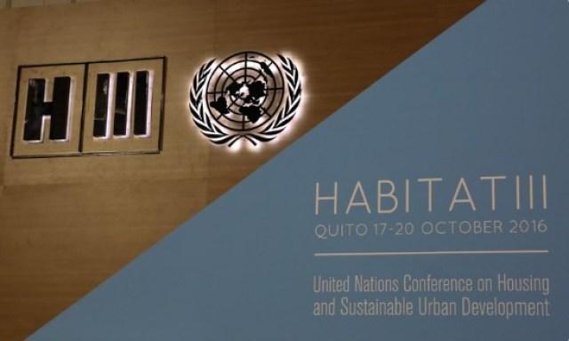 Conferencia Hábitad III de la ONU