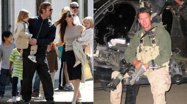 Mark Billingham cuidó a la familia Pitt-Jolie durante 18 meses. Conoció los temores, secretos y miserias de la pareja. Foto: Infobae