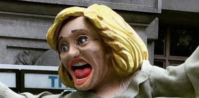 ¡Increíble! Mira la estatua de Hillary Clinton que causa revuelo en Nueva York