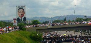 Así se escuchó #LaTomaDeVenezuela en Caracas (Video)