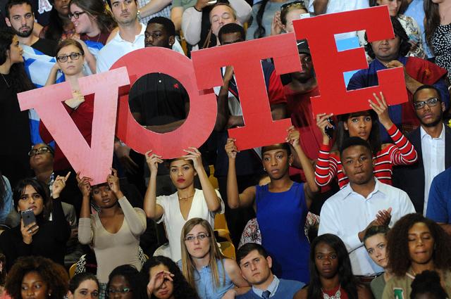 Florida ya vota en las elecciones presidenciales de EE UU