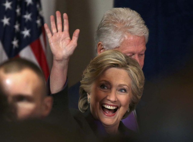 Hillary Clinton REUTERS/Carlos Barria