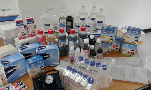 Insumos médicos donados por Acción Venezuela