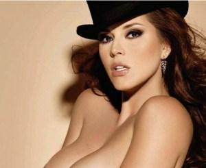 Oh yeah!… recordamos a Alicia Machado en Playboy porque ella recordó los desnudos de Melania Trump