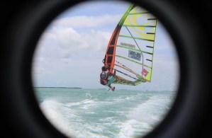 """El windsurfista venezolano Miguelito Bruggeman competirá en el """"Miami Slalom Open"""""""