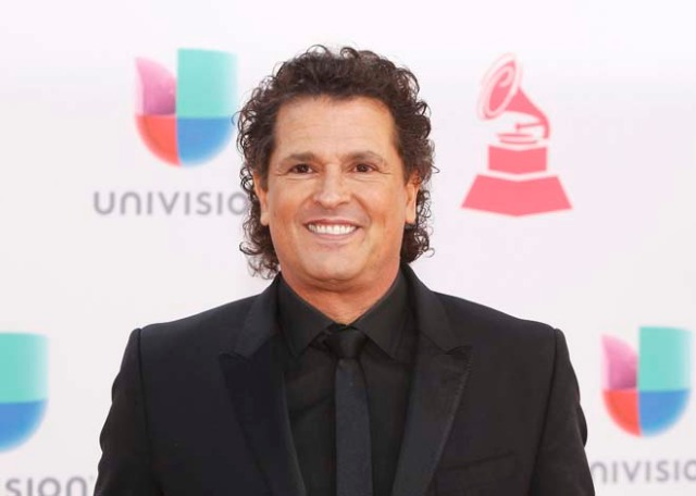 Singer Carlos Vives arrives at the 17th Annual Latin Grammy Awards in Las Vegas, Nevada, U.S., November 17, 2016.   REUTERS/Steve Marcus