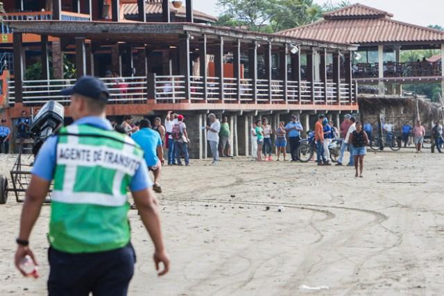 Foto: Autoridades nicaragüenses desalojan costas ante alerta de tsunami / AFP