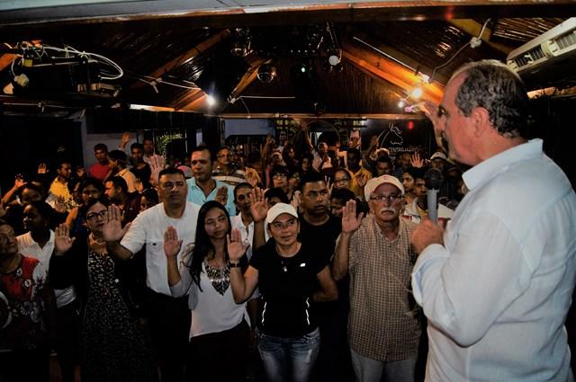 Unidad Bolívar juramenta equipo de primarias