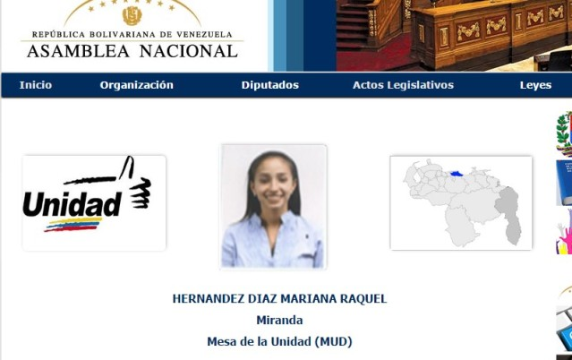 Mariana Hernández MUD