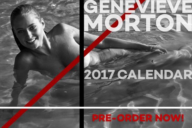Genevieve Morton - 2017 Calendar Topless (2)
