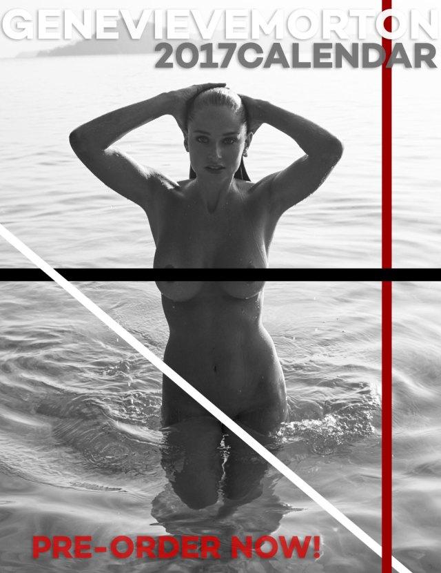 Genevieve Morton - 2017 Calendar Topless (4)