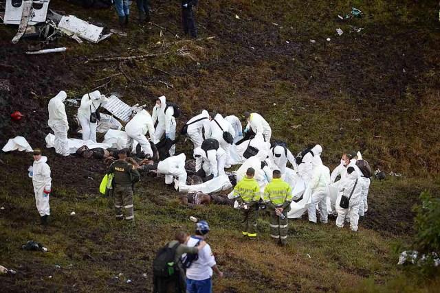 accidente avion Chapecoense colombia