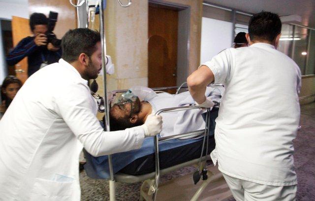 Alan Luciano Ruschel del Chapecoense sobrevivió a la tragedia (Reuters)