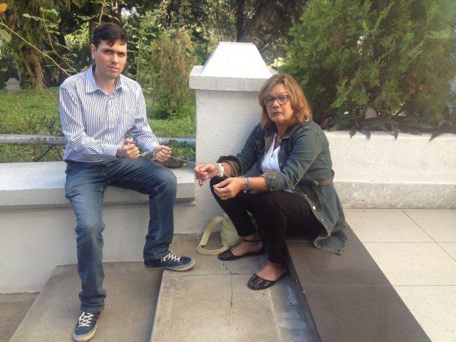 Diputado Rosmit Mantilla y Rosa Orozco
