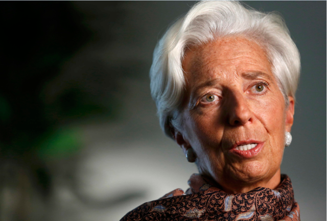 Foto: Christine Lagarde / Reuters