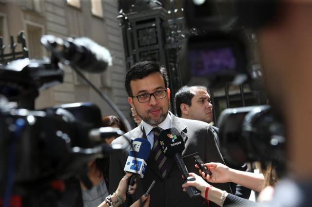 El coordinador de Venezuela en Mercosur, Héctor Constant (Foto EFE)